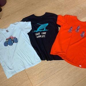 American Apparel 100% cotton tee shirt bundle